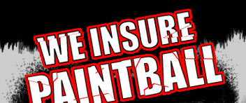 We insure Paintball